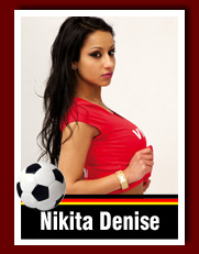 Sexy Soccer Girl NikitaDenise auf VISIT-X
